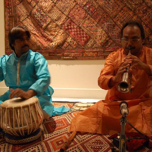 SHAHNAI & TABLAS avec Chandra Kant Prasad et Kailash Nishad