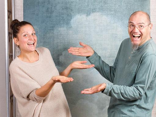 Eric Amoudru et Marianne Speranza